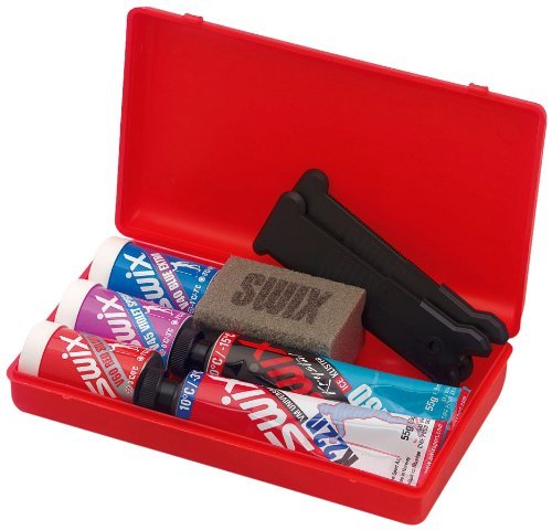 swix-nordic-ski-wax-pack-with-kick-wax-and-klister-12-x-12-inch-by-swix