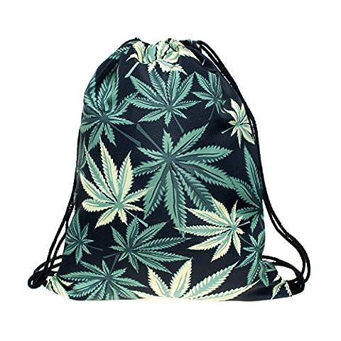 Beutel Black Weed Beutel Marihuana Gras Hanf Blatt Blüte Verschiedene