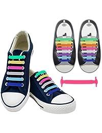 express rapide 14pcs Magideal Des Chaussures Cravate Lumineux Dentelle Chaussures Élastique En Silicone - Vert 2015 nouvelle vente amazone Footlocker 0kV6sVTxH