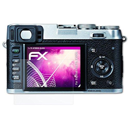 mpatibel mit Fujifilm FinePix X100S Panzerfolie, 9H Hybrid-Glass FX Schutzpanzer Folie ()