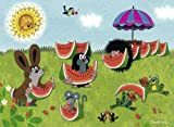Ravensburger 05408 - My First Puzzles: Der kleine Maulwurf - Melone schmeckt, 16 Teile