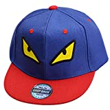 THENICE Kind Hip-Hop Cap Baseball Kappe Hut (Monster blau)