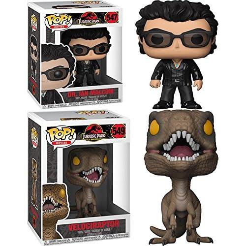 Pack 2 Dr Alan Grant + Velociraptor