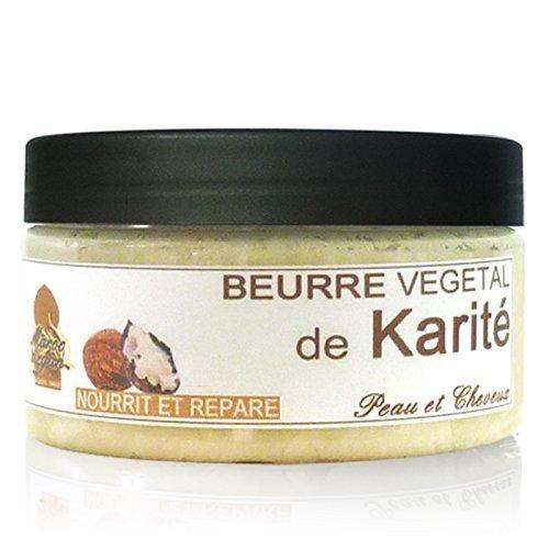Beurre de Karité Végétal BIO et Naturel - Répare et Sublime Peau & Cheveux - 100ml