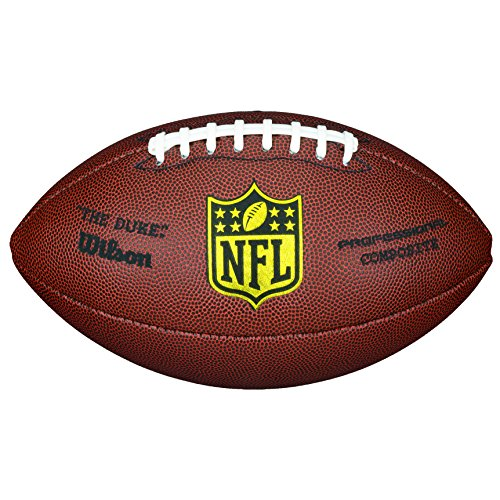 Wilson NFL Duke Replica American Football, Braun, Ofizielle Größe (Pants Rugby Training)