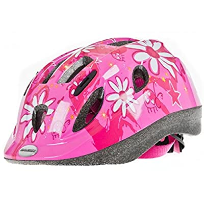 Raleigh Mystery Pink Flowers Girls Kids Bike Helmet - Small (48 - 54cm) from Raleigh
