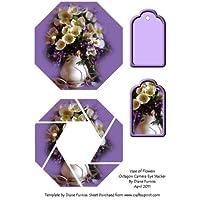 Vaso di fiori Octogon camera Eye Stacker by Diane Furniss
