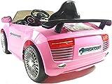 Kids Ride On - 12V Audi Style Sports Saloon (Pink) 2014 Model!