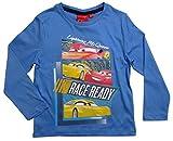 Cars Disney 3 Kollektion 2017 Langarmshirt 92 98 104 110 116 122 128 Shirt Cruz Ramirez Lightning McQueen Blau (92-98; Prime, Blau)