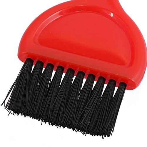Salon Coiffure Longue Queue Coloration Des Cheveux Teinte Colorant Brosse Applicateur - Poignée Rouge