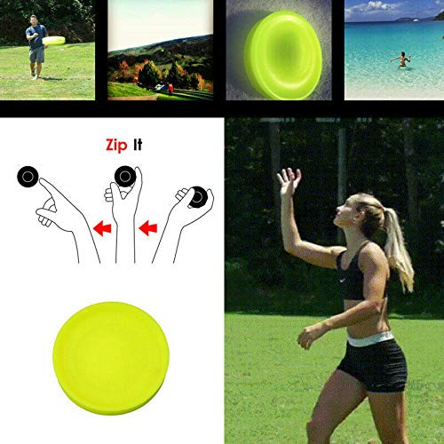 Dragon Honor Zip Chip Frisbee Mini Pocket Flexible Soft New Spin in Catching Game Flying Disc