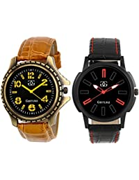 Gesture Combo Of Two Stylish Watches For Men's - GA-7502