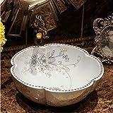 dwthh La Chine peinture céramique art fait main ronde lavabo lavabo salle de bain...