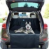 Jekam® Kofferraum-Schutz Hund XXL Kombi SUV mit praktischer Transporttasche-strapazierfähige Kofferraumschutzdecke wasserdicht waschbar mit Seitenschutz