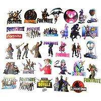 Hopasa Fortnite Aufkleber für Laptop (100pcs), Fortnite Geschenke für Kinder, Jungen, Erwachsene, Pakete, Autos, Skateboard Vinyl Fortnite Decals