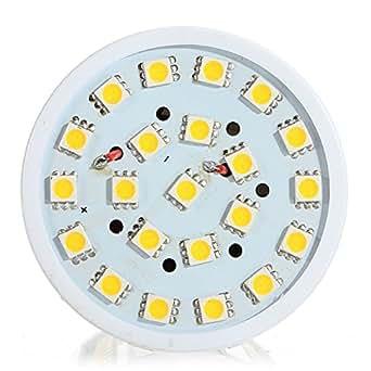 B22 21W LED blanc pur SMD5050 132LED maïs ampoule lampe 110V