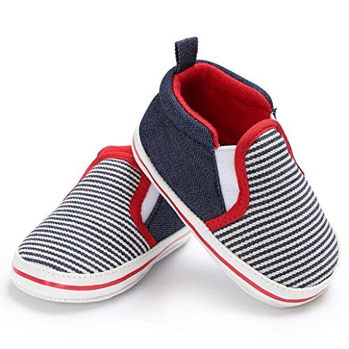 Azul Sapatos Suave Par De Antiderrapantes Bebê Bonito Igemy 1 Criança Conforto Mocassins U1q1B