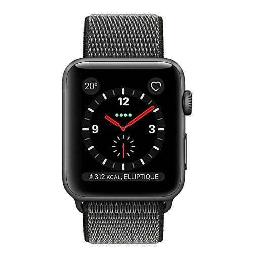 51OM574KRxL - [Euronics] Apple Watch Series 3 LTE 42mm Aluminiumgehäuse Space Grau MQKR2ZD/A für nur 449€