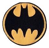 Applikation Patch Aufnäher Selbstklebende Baumwollstoff Symbol Batman Logo