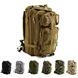 Best Military Backpacks - Risefit Military Assault Tactical Backpack Water Resistant Military Review
