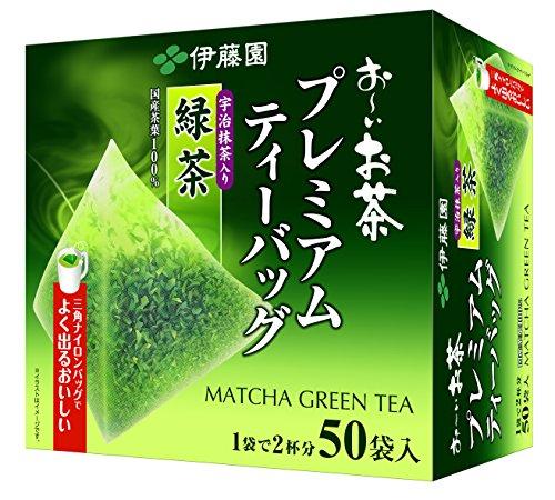 Itoen Premium Tee Bag Green Tea 1.8g - 50 peace - Green Tea - (Pack Type)
