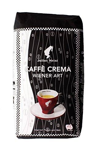 Julius Meinl - Caffè Crema Wiener Art - 1kg (Kaffeebohnen Wien, Ganze Bohne)