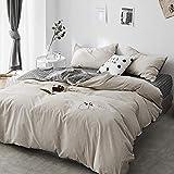 xiami Vierteiliger Bettanzug Baumwolle Gewaschene Baumwolle Baumwolle Laken Vierteiliger Anzug@A_2.0m Bett