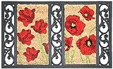 Onlymat Twin Tray Poppy Rubber Door Mat