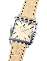 ANTONELLI 960012 - Reloj de Señora movimiento de cuarzo con correa de piel