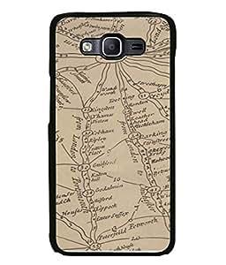 PrintVisa Designer Back Case Cover for Samsung Galaxy E5 (2015) :: Samsung Galaxy E5 Duos :: Samsung Galaxy E5 E500F E500H E500Hq E500M E500F/Ds E500H/Ds E500M/Ds (Places Joining London Informative Design)