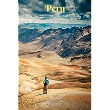 Peru: Notizbuch, Linierte Seiten, 6x9 Inch, Journal, Peru