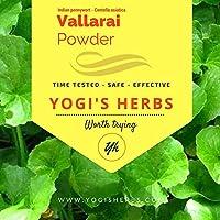 Yogis Herbs VALLARAI Powder (Centella Asiatica/Gotu Kola) 1/2 Lb / 8 oz / 227g – Fresh & Pure
