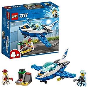 LEGO City PattugliamentodellaPoliziaaerea, Giocattoli Facili da Costruire per Bambini, 60206  LEGO