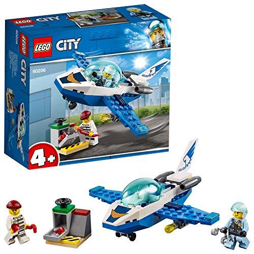 Lego 60206 City Polizei Flugzeugpatrouille, (Kunststoff Mini Kostüm)
