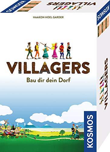 KOSMOS 691400 Villagers - Bau dir deine Stadt, Kartenspiel für 2 bis 4 \nSpieler ab 10 Jahren, Strategie-Spiel
