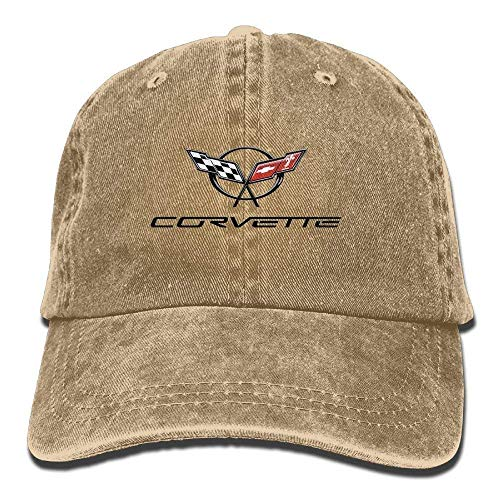 Corvette Unisex Baseball Cap Trucker Hat Adult Cowboy Hat Hip Hop Snapback JH4407