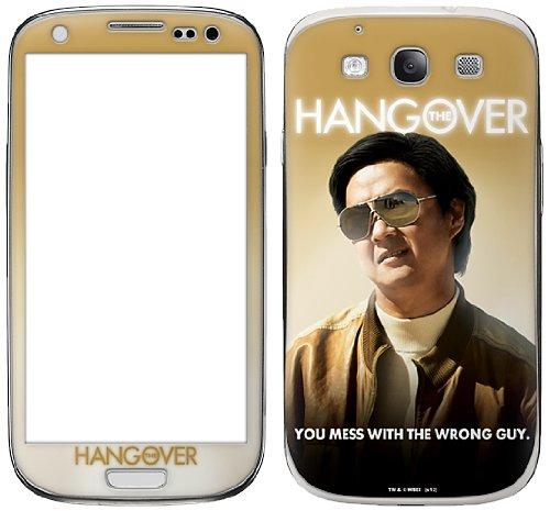 Zing Revolution The Hangover Premium Vinyl Selbstklebende Schutzfolie für Samsung Galaxy S III, Mr. Chow (ms-hang30415)