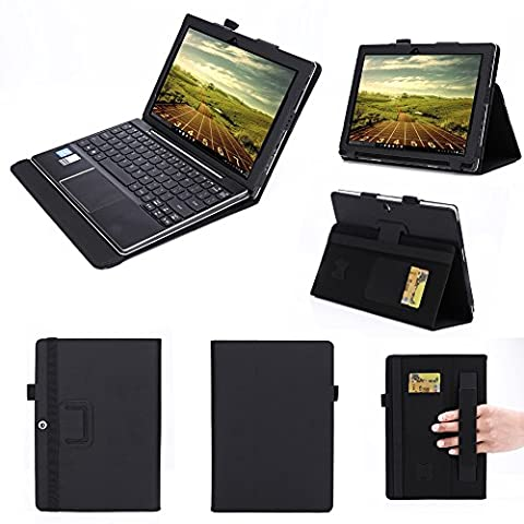 ISIN Tablet Case Series Premium PU Leather Case Stand Cover for Lenovo Ideapad MIIX 310 10.1