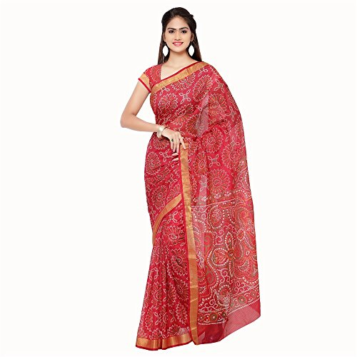 Rajnandini Cotton Saree (Joplsrs1053E_Red)