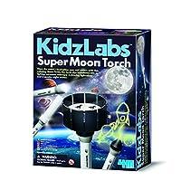 JJays Store Rainy Day Idea Boys & Girls Fun Play & Learn Gift Idea For Birthdays Age 5+ Kidzlabs Super Moon Torch