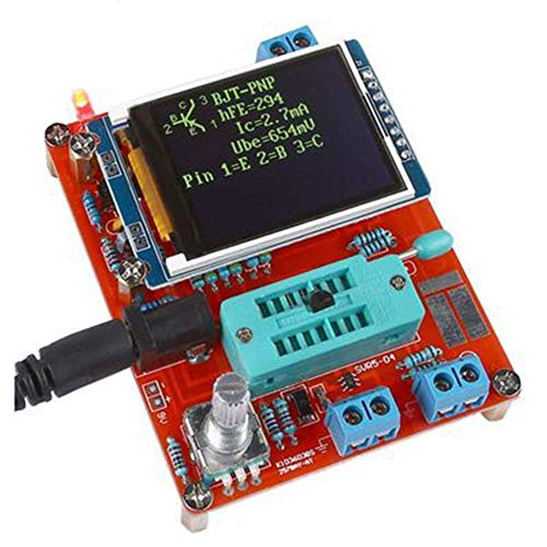 GM328A DIY Multifunktionaler LCD -Transistor -Tester Diode Kapazität ESR Voltage Frequency Meter PWM Square Wave Signal Generator -