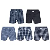D.E.A.L International 5-er Set Boxershorts Karo Mix Size M