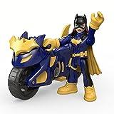 DC Fisher-Price – Imaginext Super Friends – Batgirl & Batcycle – 1 x Mini-Figur + Fahrzeug