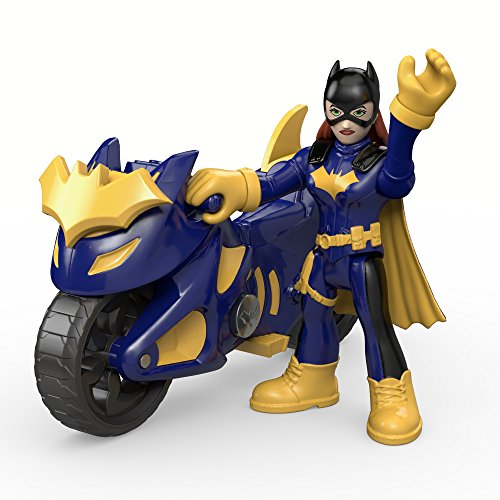 Fisher-Price Imaginext DC Super Friends - Batgirl with Batcycle by Imaginext