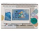 Fujifilm 70100133810 Instax Wide Kalender Bunt