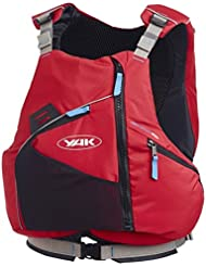 2017 Yak High Back 50N Touring Buoyancy Aid in Red 2751 Sizes- - Small/Medium