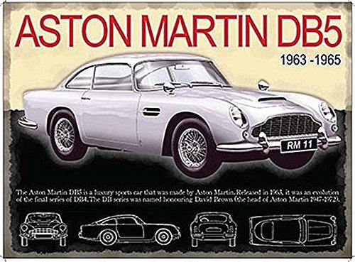aston-martin-db5-metal-advertising-sign-large-400mm-x-300mm-by-original-metal-sign-co