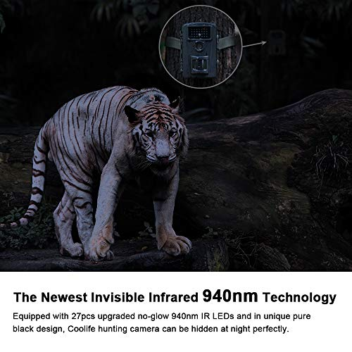 Zoom IMG-2 coolife fotocamera da caccia 12mp