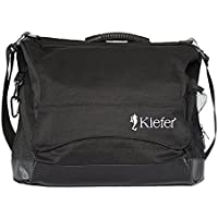 Kiefer coach' S Briefcase, 13 x 5 x 18-Inch, Water Resistant Fabric, Black by Kiefer - Trova i prezzi più bassi