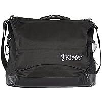 Kiefer coach' S Briefcase, 13x 5x 18-Inch, Water Resistant Fabric, Black by Kiefer - Trova i prezzi più bassi